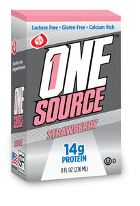 ONEsource™ - Strawberry - Pack of 3 - 8 Oz Container