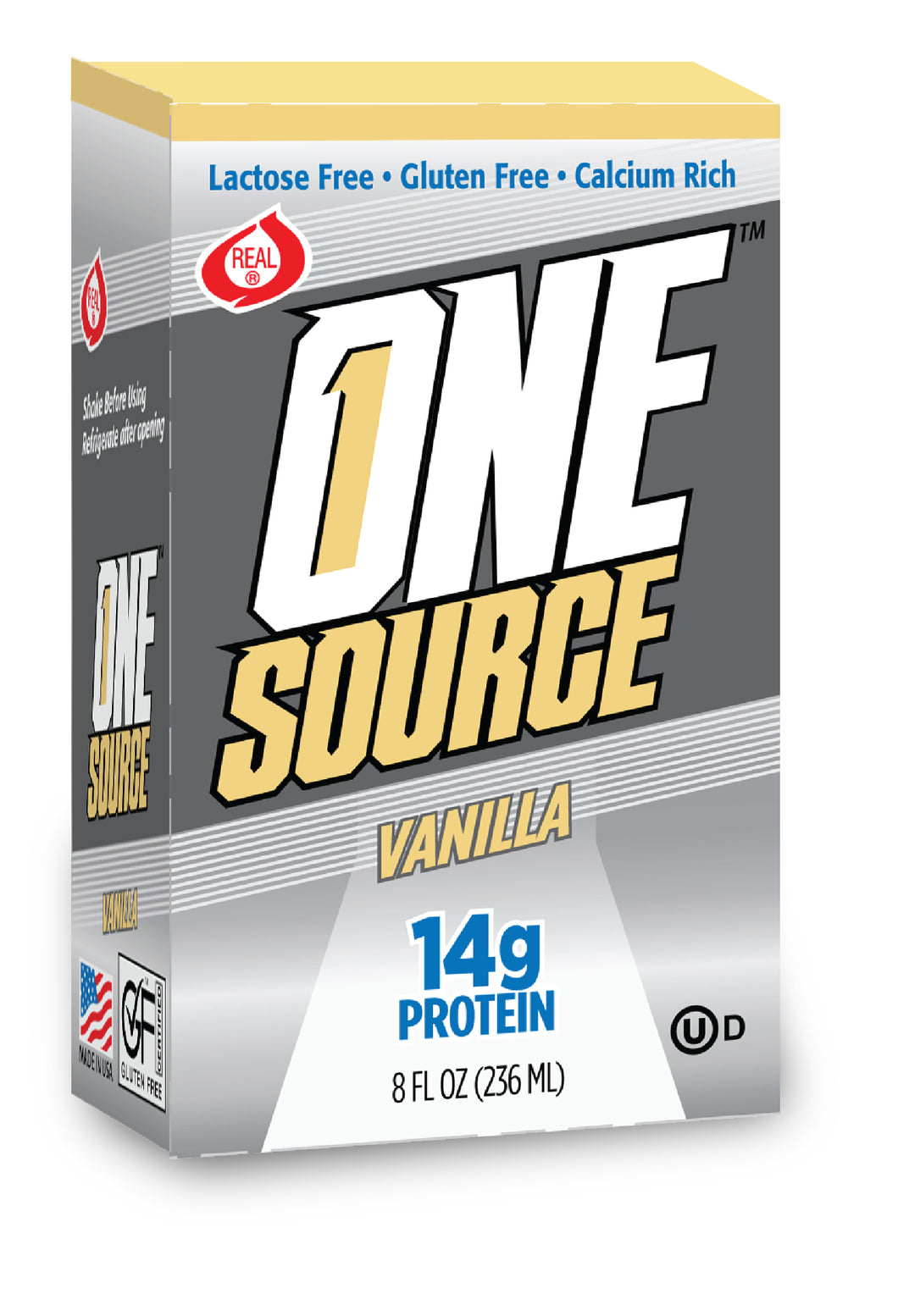 ONEsource™ - Vanilla - Case of 27 - Free Shipping