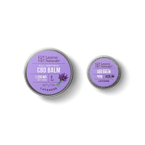 Lavender Full Spectrum CBD Balm by Lazarus Naturals