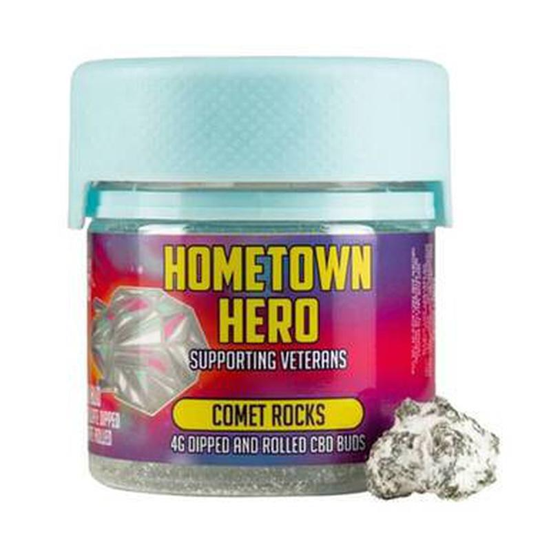 Hometown Hero Isolate Dipped Comet Rocks