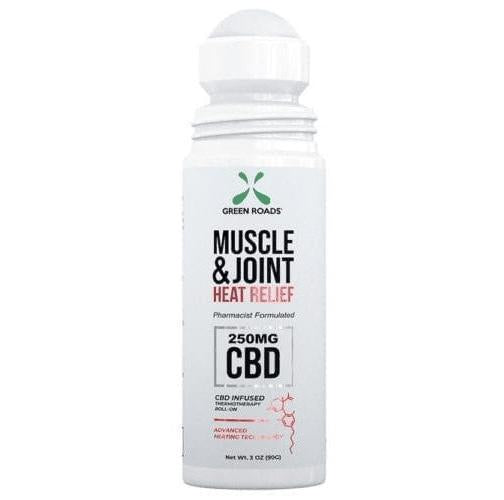 Green Roads Heat Relief CBD Muscle and Joint Roll-On