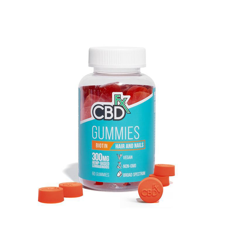 Biotin Gummies for Hair and Nails by CBDfx