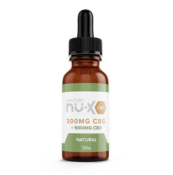 CBG Tincture Natural by Nu-X CBD