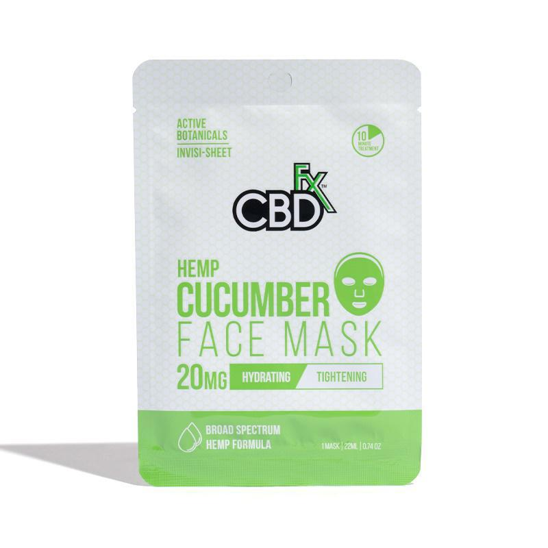 CBDfx Cucumber Hemp Mask