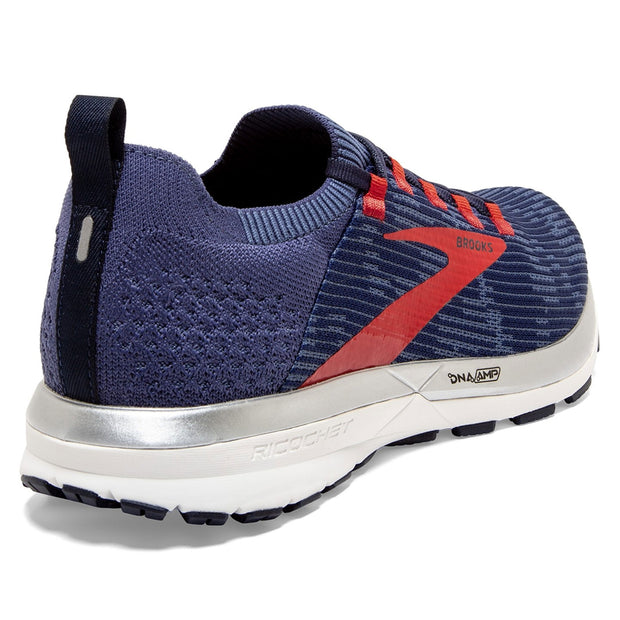 Brooks Ricochet 2 I Deep Cobalt / Blue / Red I Men