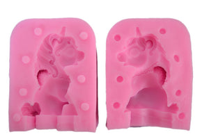 3D Baby Unicorn Silicone Mold