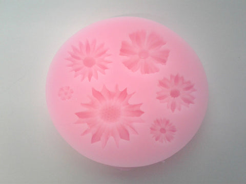 Flower Mix Silicone Mold