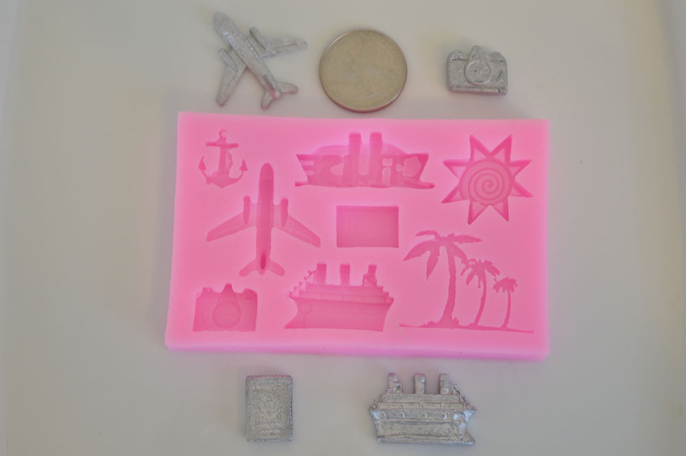 Travel Set Silicone Mold