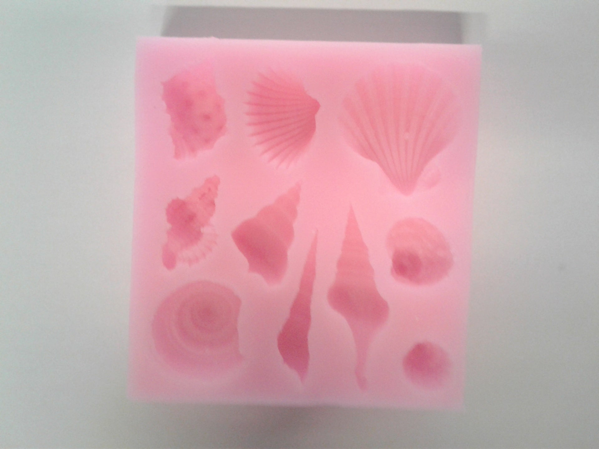 Seashell Mix Silicone Mold