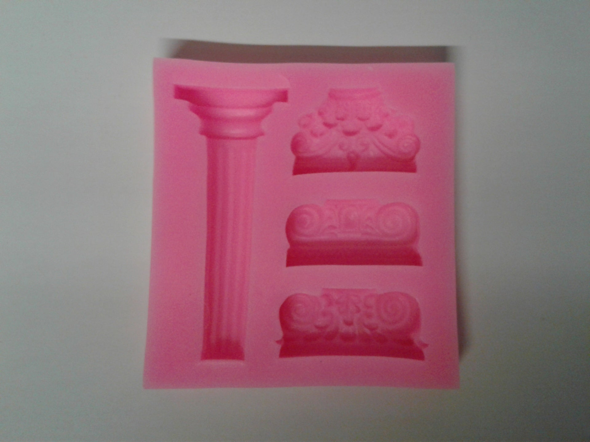 Columns and Capitals Silicone Mold