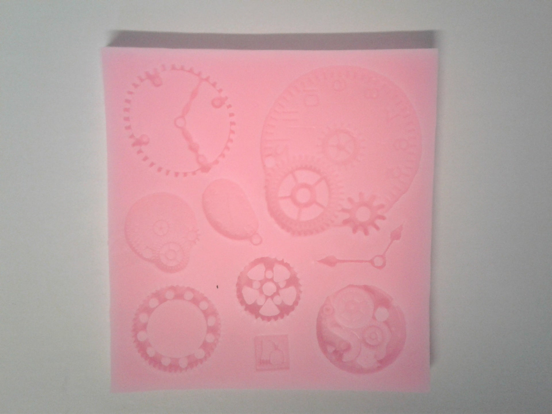 Clock Mix Silicone Mold