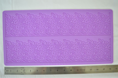 Misc. Leaf Pattern Silicone Lace Mat