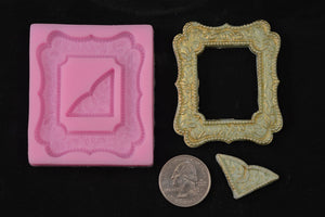Small Square Picture Frame Silicone Mold