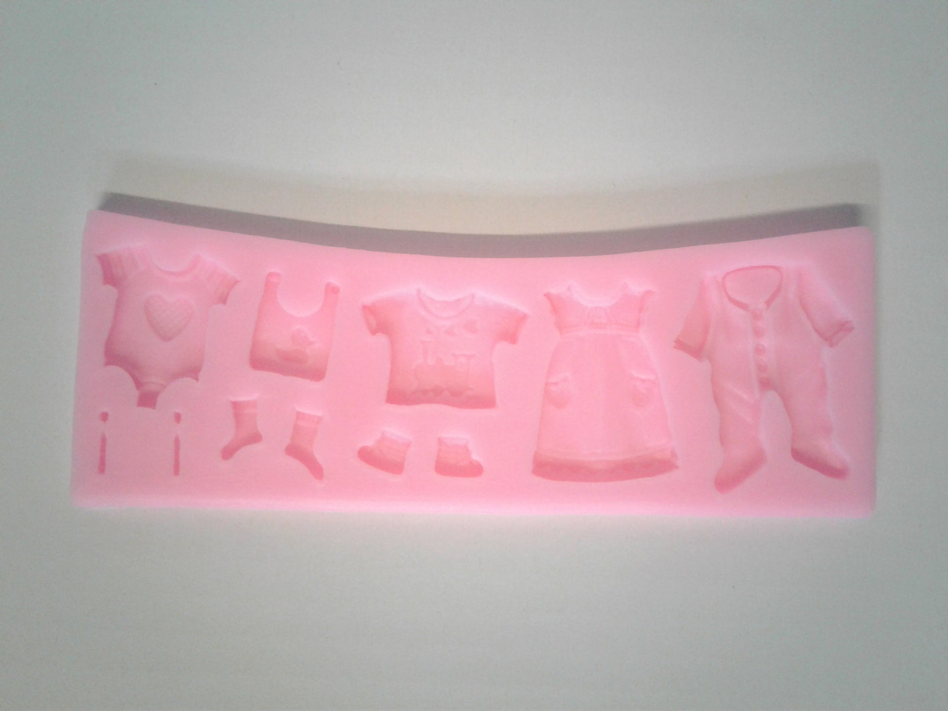 Baby Clothing Mix Silicone Mold