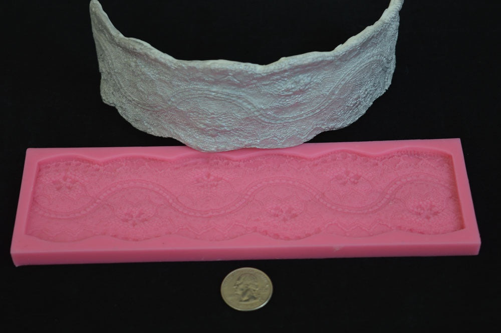 Lace 3d Silicone Mold