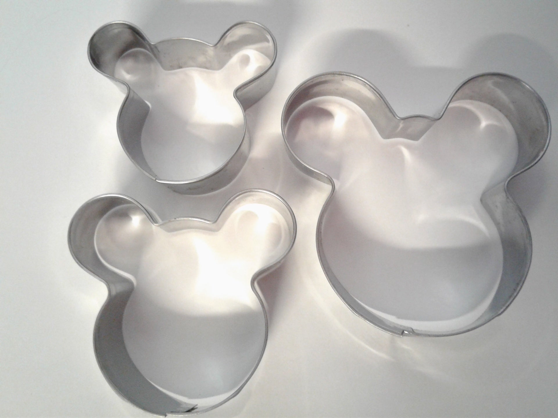 Mouse / Bear Cookie Cutter 3 Piece