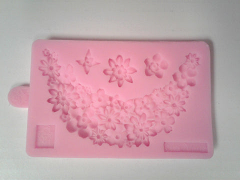 Flower Drape Silicone Mold