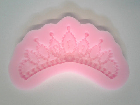 Small Tiara Silicone Mold