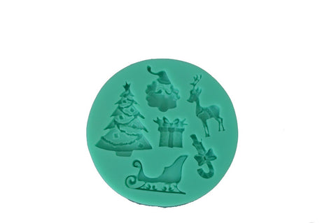 Christmas Mix Silicone Mold
