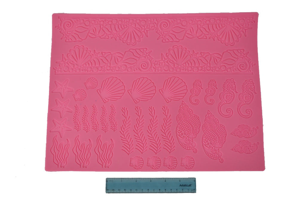 Under The Sea Lace Silicone Mat