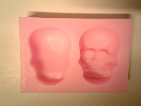 Skull 3d Silicone Mold