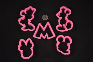 Mickey Mouse Cookie Cutter 5 Piece