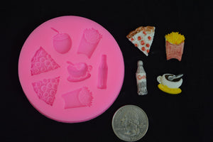 Fast Food Silicone Mold