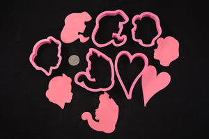 Princess Cookie Cutter 5 Piece