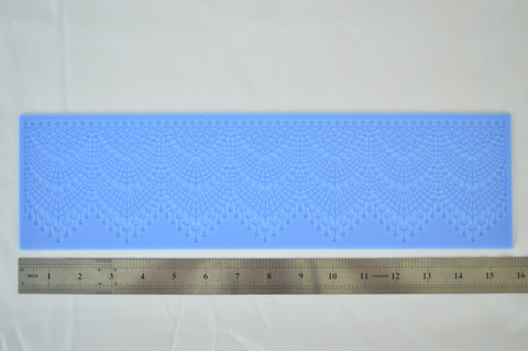 Drapes Silicone Lace Mat