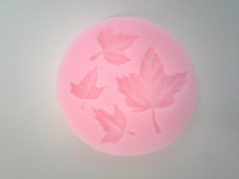 Fall Leaf Assortment Silicone Mold