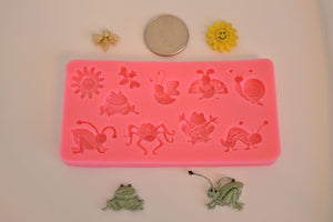 Bugs Mix Silicone Mold