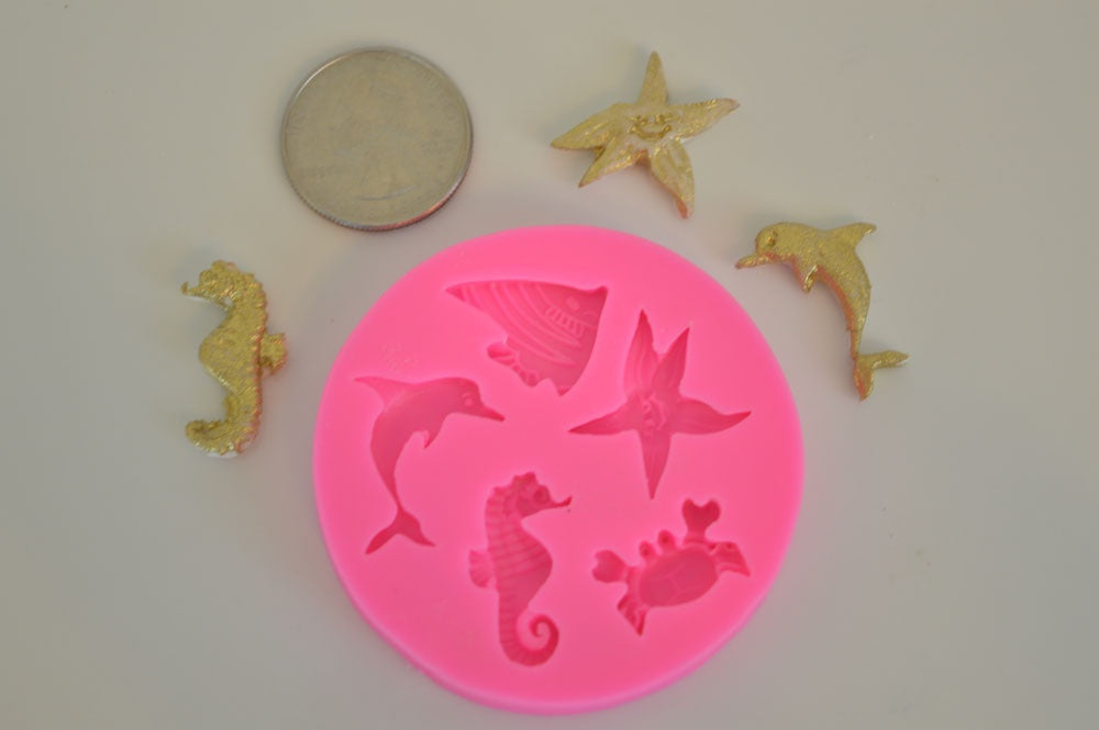 Fish Assortment Silicone Mold
