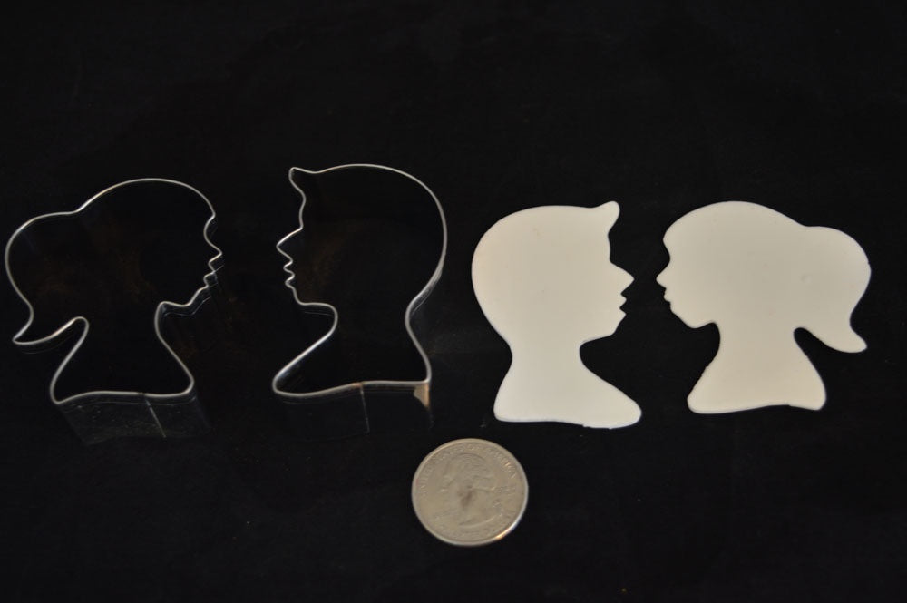 Boy/Girl Silhouette Cookie Cutter