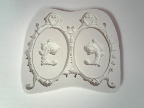 Large Dual Picture Frame Silicone Mold