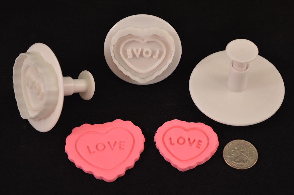 Heart Love Plunger Cutter