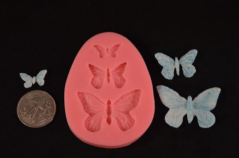 Butterfly Mix Silicone Mold
