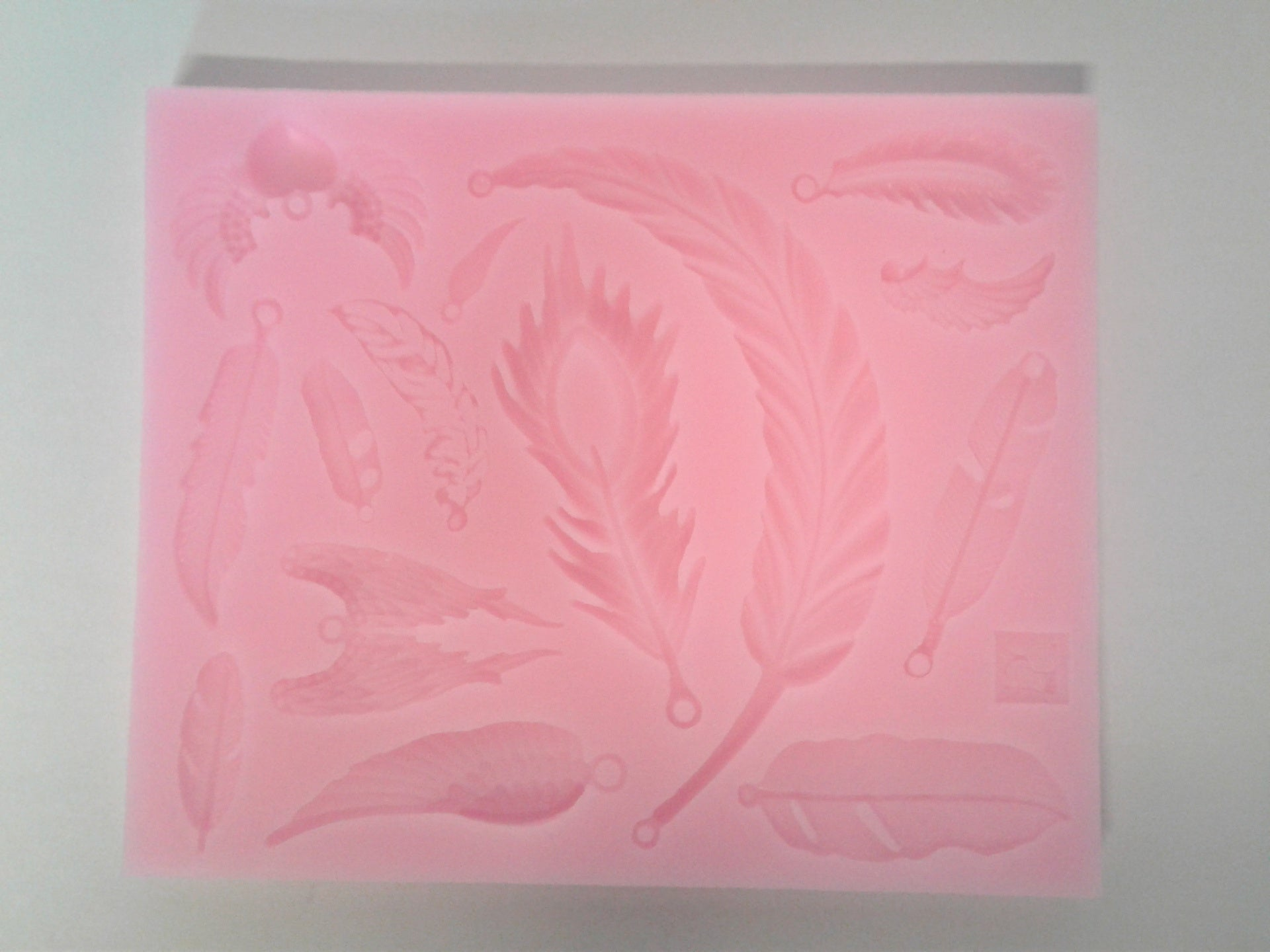 Feather Mix Silicone Mold