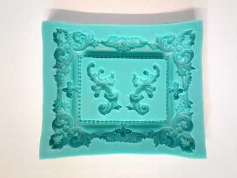 Large Picture Frame SIlicone Mold