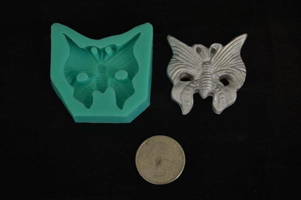 Butterfly Mask Silicone Mold