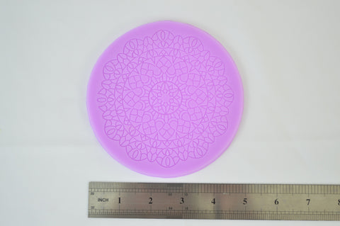Round Doily Silicone Lace Mat