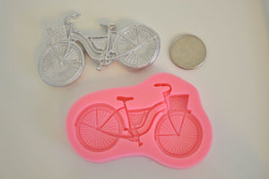 Bicycle Silicone Mold
