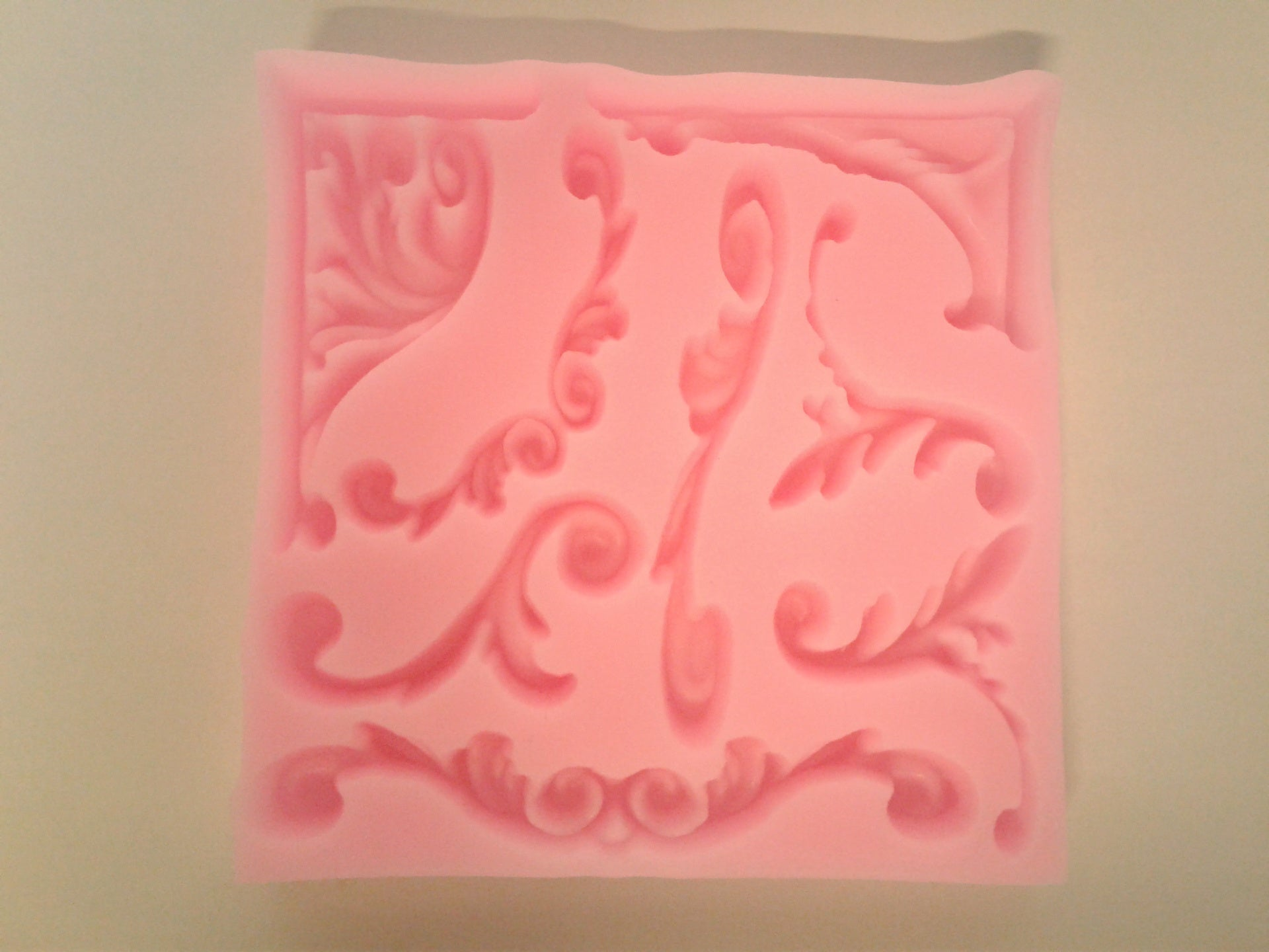 Filigree Border Accents Mix Silicone Mold