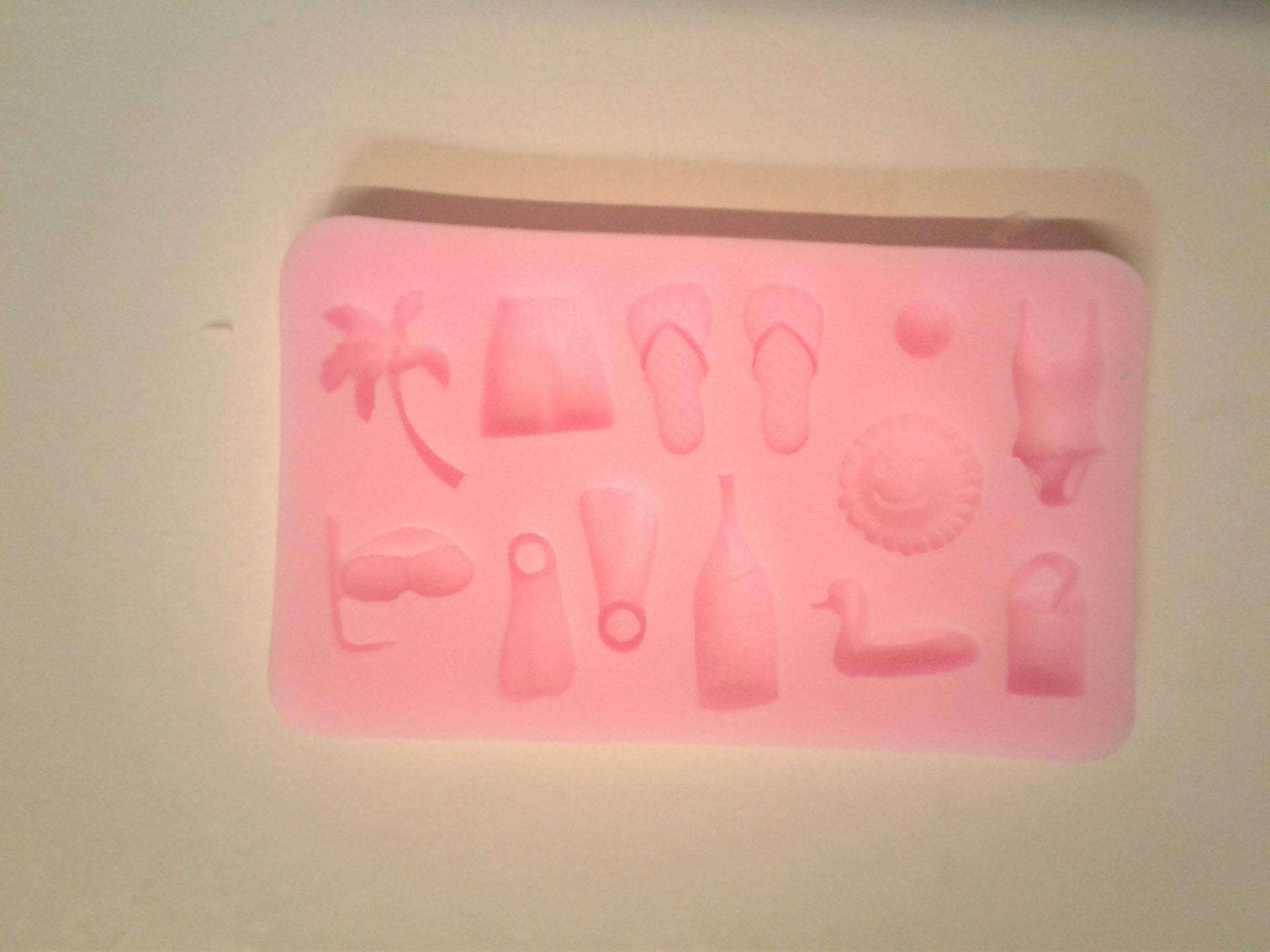 Tropical Vacation Mix Silicone Mold