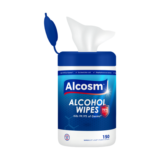 75% Alcohol Wipes - 150 canister