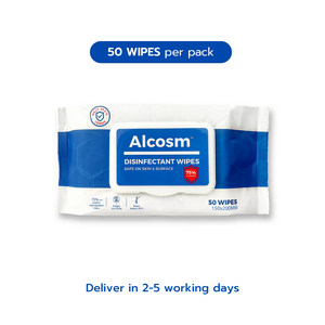75% Alcohol Wipes - 50 sheets