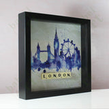 London - Scrabble gift with frame