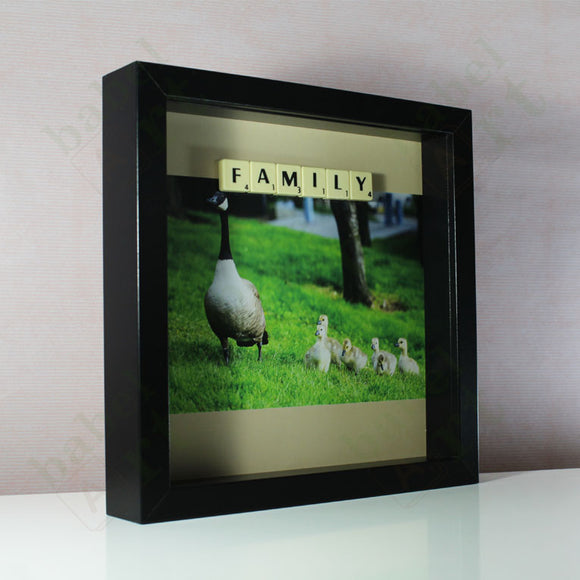 Goose Family - Scrabble Gift