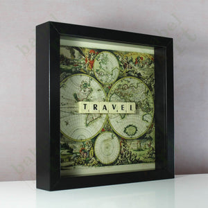 Travel - Vintage Map