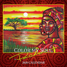 Load image into Gallery viewer, COLOR MY SOUL 2020 CALENDAR