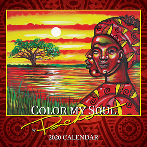 COLOR MY SOUL 2020 CALENDAR